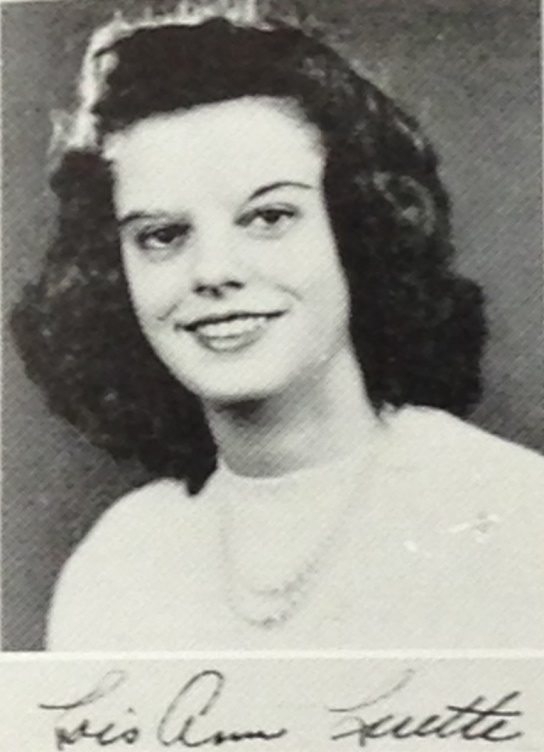 Senior Portrait from Bloomington High School Gothic, 1948